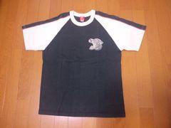 フェローズ2004スカTシャツ/サイズS/黒×キナリ/定価5800円