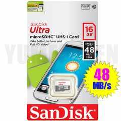 即決新品 48MB/s CLASS10 SANDISK microSDHC 16GB マイクロSDHC