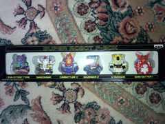 スーパーロボットF-BOXゼンマイ人形6体セット