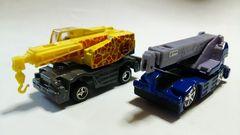 トミカ!クレーン車!2台セット!改造車