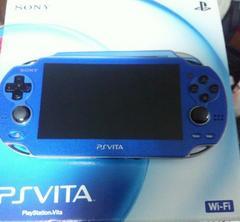 【再】PS Vita本体ブルー+周囲アクセサリー+ソフト1本