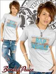 BONDS&PEACE(ボンズアンドピース)BAPWORLDTシャツ/M