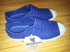 native  JEFFERSON  サイズM6  W8  紺×白