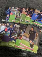 【サッカー】2014 JAPAN NATIONAL TEAM CARD 11枚セット(2)