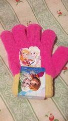 新品アナと雪の女王手袋定価\1404ディズニーピンク