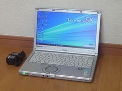 軽快Core i5★メモリ8GB★Office★Panasonic Let's Note CF-SX2