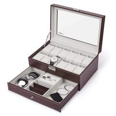 腕時計収納ケース腕時計ボックス 2段 12本
