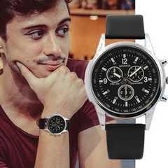 腕時計 メンズ クォーツ腕時計 ゴムベルト ファッション時計