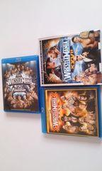 Blu-rayブルーレイ美品WWEレッスルマニア25・26・27まとめ売り/アメリカンプロレス