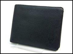 ルイヴィトン タイガ メンズ 二つ折り財布 札入れ M30472