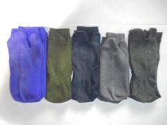 靴下ソックス足袋靴下足袋ソックス2本指指付き20cm〜26cm各種6足