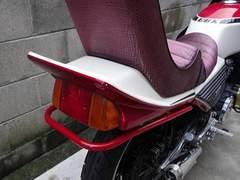 CBX400F 550F テールガード サイドバーメッキ 黒 青 赤