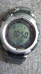 定価58320円プロトレックPRW-1300TJチタンバンドタフソーラー電波腕時計