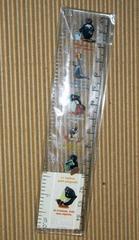 [グッズ] ピングー 定規 15cm / 6inch クリア・未使用品