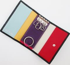 1点限り☆新品 ポールスミス 内側6色カラー キーケース k97