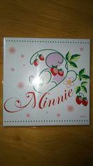 DISNEY ディズニー Minnie Mouse ミニーマウス スウィートケース 脂取り紙  非売品