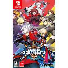 Switch》BLAZBLUE CROSS TAG BATTLE 〈特典入〉 [181000095]