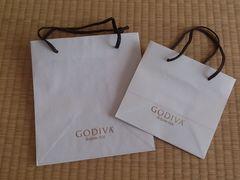 ゴディバ 紙袋 大小2枚セット