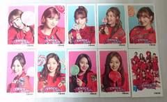 TWICE ミニフォトカード トレカ 10枚セット Candy Pop