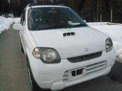 ☆即決!KEI ターボ 5速 MT 4WD 社外マフラー車検付きも可!☆