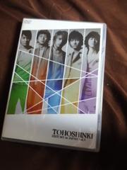 DVD東方神起 HISTORY in JAPAN Vol.3