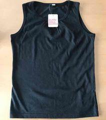 1■新品タグ付き■美品■ノースリーブシャツ 140cm 黒 切手可能