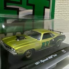 M2/'71 Plymouthプリムス Hemiヘミ Cudaクーダ 1/64
