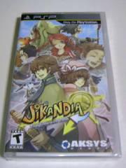 即決 レア 新品 PSP JiKANDIA The Timeless Land 海外版/アクションゲーム