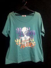 3L/半袖プリントTシャツ