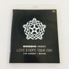 送料無料 BIGBANG Blu-ray LOVE&HOPE TOUR 2011
