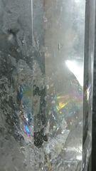 【天然石】◆クリスタル◆特大六角柱◆虹入り◆27cm◆開運◆
