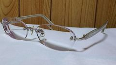 正規 フェラガモ ガンチーニマルチロゴ メガネ 眼鏡 メタルエンブレム クリアオープン サングラス
