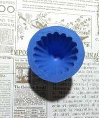 スイーツデコ型◆三角チョコ(大)◆ブルーミックス・レジン・粘土