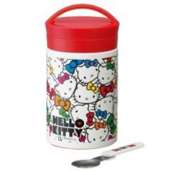 【キティ】可愛いポスター柄デザイン縦型保温ランチジャー弁当箱