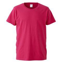 4.7オンス ファインジャージー Tシャツ トロピカルピンク L