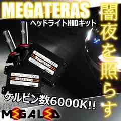 超LED】ステージアM35系前期ハロゲン仕様車/ヘッドライトHIDキット/H1/6000K