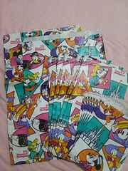 ディズニーランド1996年度紙袋set超レア品