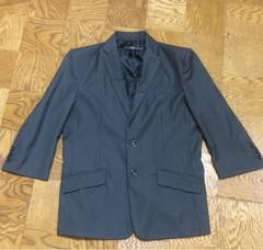 インプローブス 7分袖 テーラードジャケット チャコール  美品