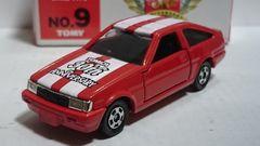 トミカ30周年限定品・トヨタ・カローラレビン・AE86