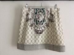 モエリーMoeryスカーフ柄バロック柄タイトミニスカート白ホワイトワンピース