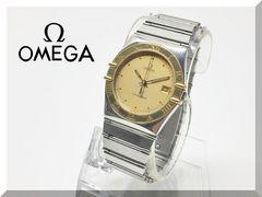 ☆OMEGA☆オメガ コンステレーション コンビメンズ腕時計 3針