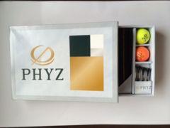 PHYZゴルフボール・ギフトセット  3セット