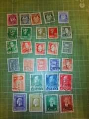 ノルウェー切手28種類♪