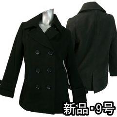 ≪新品♪M≫トラッドスタイル♪定番コート♪黒♪k