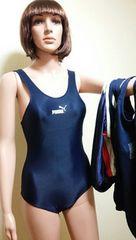 puma他ネイビーの競泳系水着4枚セット 1344☆3点で即落☆