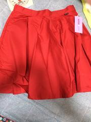 新品SISTER JENNIフレアスカート150センチ赤