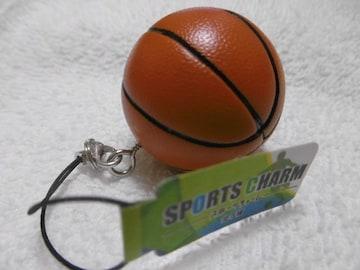 「球技」ストラップ(バスケットボール)