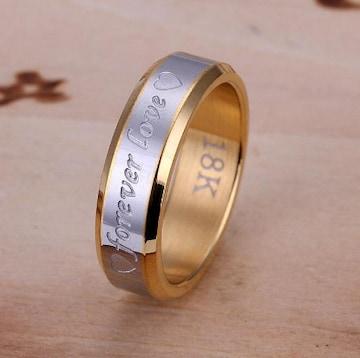 人気 個性的デザインリング 指輪 華奢リング (B-8サイズ)