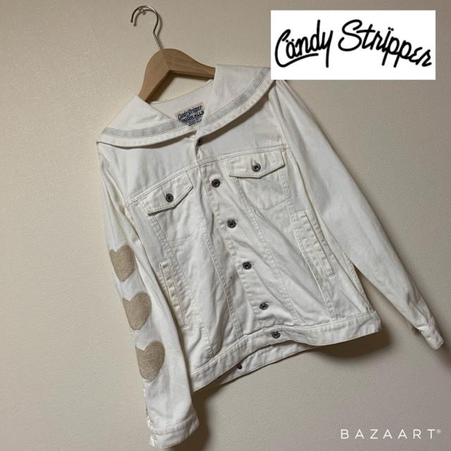 ☆Candy Stripper セーラーカラーデニムジャケット Gジャン☆  < ブランドの