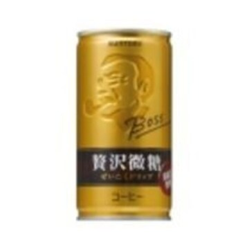 BOSSボス 贅沢微糖 1ケース30缶